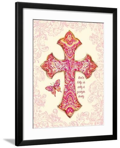 God's Help-Bella Dos Santos-Framed Art Print