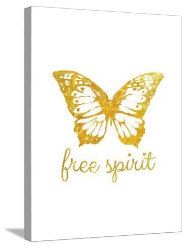 Free Spirit Butterfly-Miyo Amori-Stretched Canvas Print