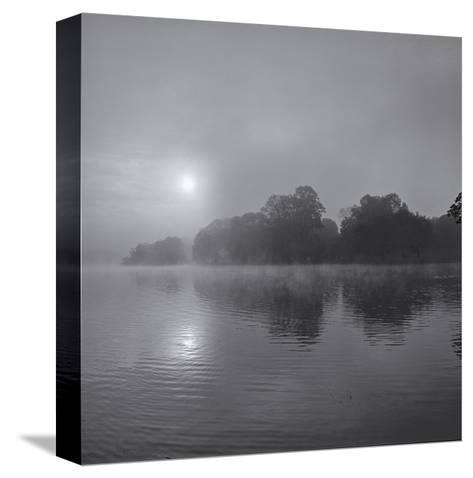 Sunrise on Lake-Henri Silberman-Stretched Canvas Print