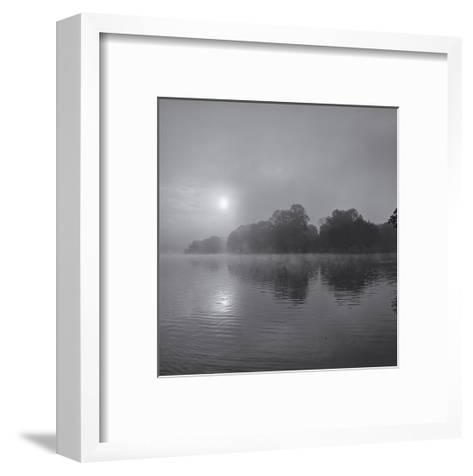 Sunrise on Lake-Henri Silberman-Framed Art Print