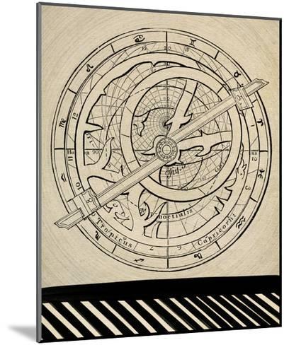 Astrology Chart-GI ArtLab-Mounted Premium Giclee Print