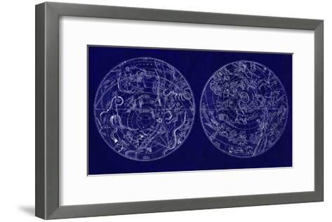Astrological Charts--Framed Art Print