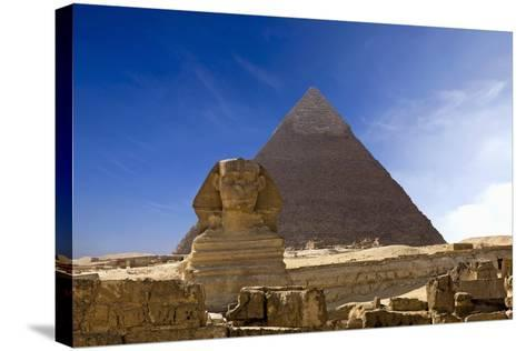 The Great Pyramids--Stretched Canvas Print