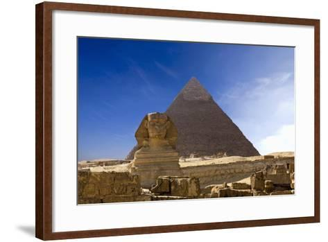 The Great Pyramids--Framed Art Print