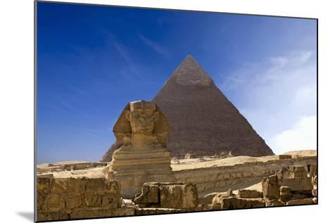 The Great Pyramids--Mounted Photo