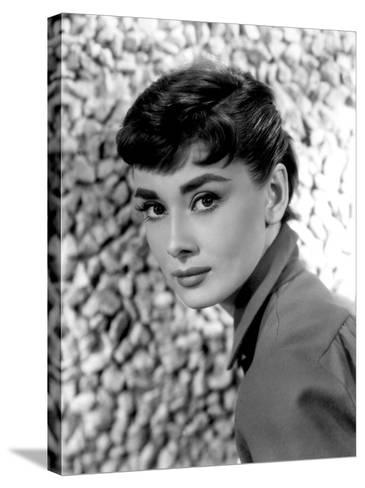 Audrey Hepburn, 1954--Stretched Canvas Print