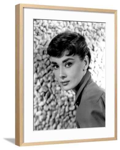 Audrey Hepburn, 1954--Framed Art Print