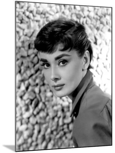 Audrey Hepburn, 1954--Mounted Photo