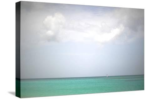 Beach on the Caribbean Island of Grenada-Frank May-Stretched Canvas Print