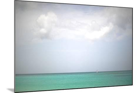 Beach on the Caribbean Island of Grenada-Frank May-Mounted Photo