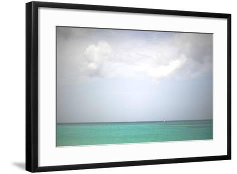 Beach on the Caribbean Island of Grenada-Frank May-Framed Art Print