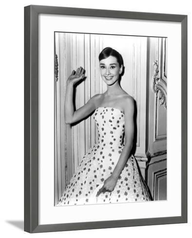 Audrey Hepburn in Funny Face, 1957--Framed Art Print
