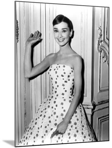 Audrey Hepburn in Funny Face, 1957--Mounted Photo