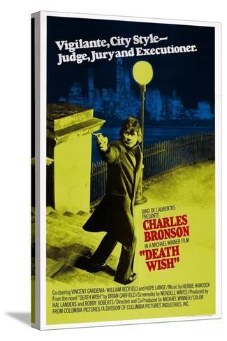 Death Wish, Charles Bronson, 1974--Stretched Canvas Print