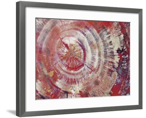 Petrified Wood, Close-Up--Framed Art Print