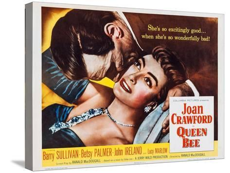 Queen Bee, Joan Crawford, Barry Sullivan, 1955--Stretched Canvas Print