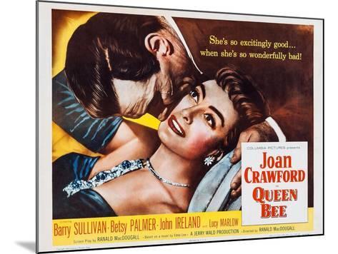 Queen Bee, Joan Crawford, Barry Sullivan, 1955--Mounted Art Print