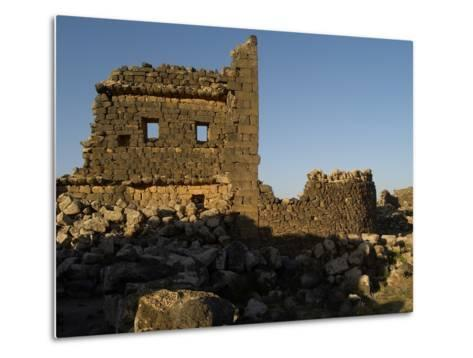 3rd House at Umm El-Jimal, Built During Byzantine Period, 5th-6th C--Metal Print