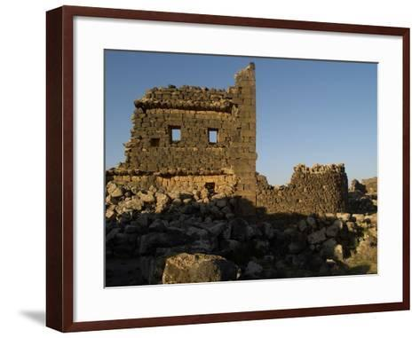 3rd House at Umm El-Jimal, Built During Byzantine Period, 5th-6th C--Framed Art Print
