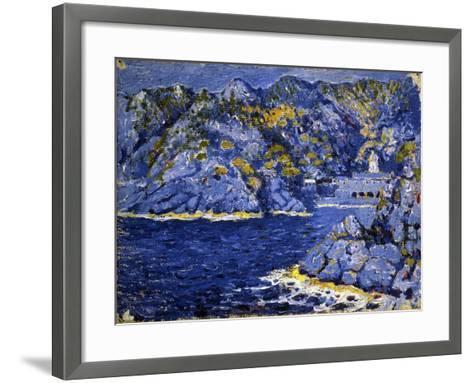 Riviera Lights-Rubaldo Merello-Framed Art Print