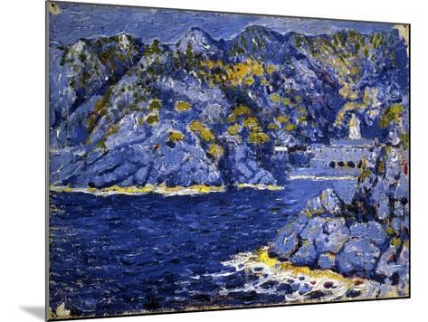 Riviera Lights-Rubaldo Merello-Mounted Art Print