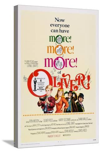 Oliver!, Mark Lester, Shani Wallis, Ron Moody, Oliver Reed, 1968--Stretched Canvas Print