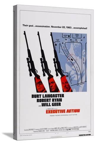 Executive Action, Burt Lancaster, Robert Ryan, Will Geer, 1973--Stretched Canvas Print
