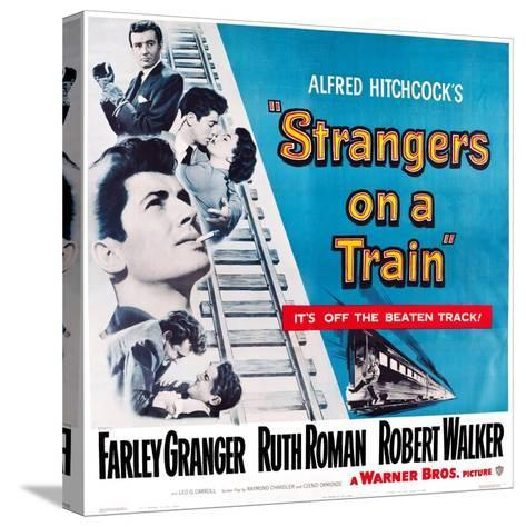 Strangers on a Train, 1951--Stretched Canvas Print