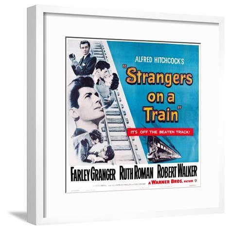 Strangers on a Train, 1951--Framed Art Print