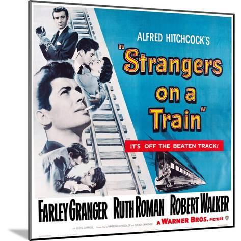 Strangers on a Train, 1951--Mounted Art Print