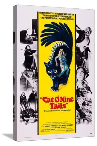 Cat O' Nine Tails, (Aka Il Gatto a Nove Code)--Stretched Canvas Print