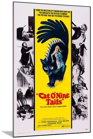 Cat O' Nine Tails, (Aka Il Gatto a Nove Code)--Mounted Art Print