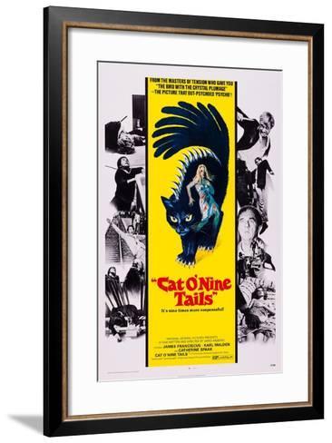 Cat O' Nine Tails, (Aka Il Gatto a Nove Code)--Framed Art Print