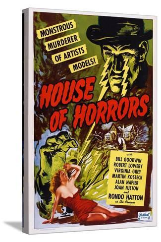House of Horrors, 1946--Stretched Canvas Print