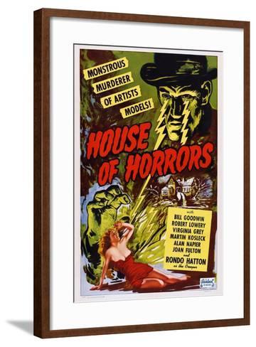 House of Horrors, 1946--Framed Art Print