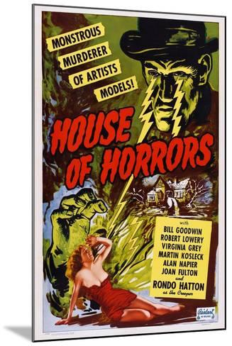 House of Horrors, 1946--Mounted Art Print