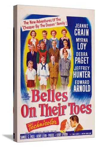 Belles on Their Toes, US, 1952--Stretched Canvas Print