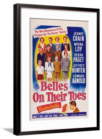 Belles on Their Toes, US, 1952--Framed Art Print