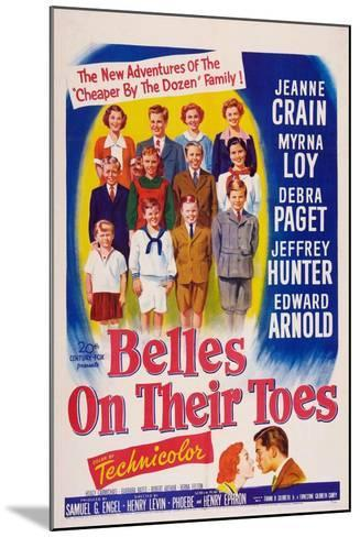 Belles on Their Toes, US, 1952--Mounted Art Print