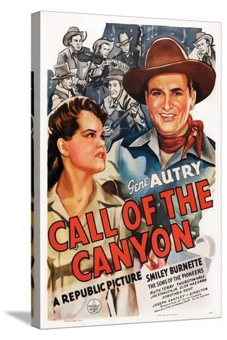 Call of the Canyon, Ruth Terry, Gene Autry, 1942--Stretched Canvas Print