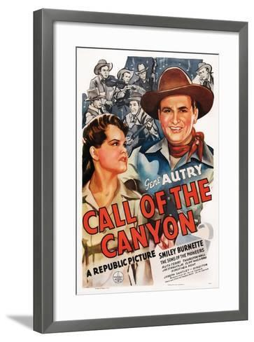 Call of the Canyon, Ruth Terry, Gene Autry, 1942--Framed Art Print