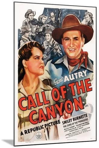 Call of the Canyon, Ruth Terry, Gene Autry, 1942--Mounted Art Print