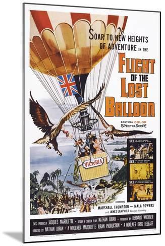 Flight of the Lost Balloon, 1961--Mounted Art Print