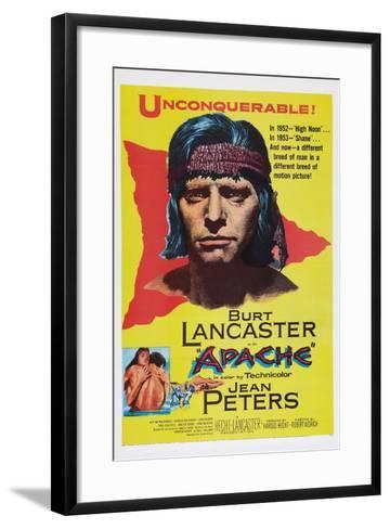 Apache, Burt Lancaster, 1954--Framed Art Print