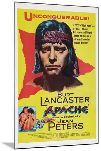 Apache, Burt Lancaster, 1954--Mounted Art Print