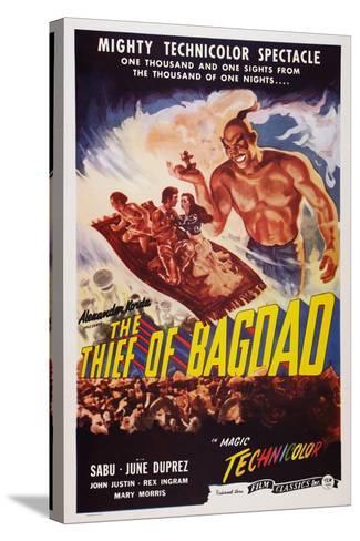 The Thief of Bagdad, Top from Left: Sabu, John Justin, June Duprez, Rex Ingram, 1940--Stretched Canvas Print