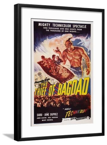 The Thief of Bagdad, Top from Left: Sabu, John Justin, June Duprez, Rex Ingram, 1940--Framed Art Print