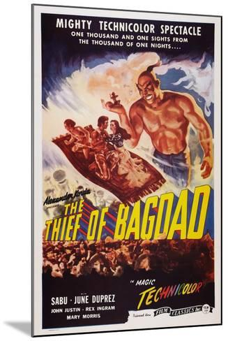 The Thief of Bagdad, Top from Left: Sabu, John Justin, June Duprez, Rex Ingram, 1940--Mounted Art Print