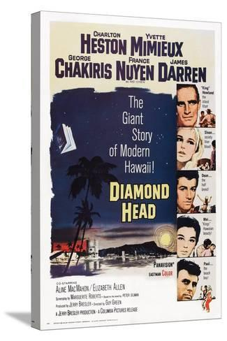 Diamond Head, 1963--Stretched Canvas Print