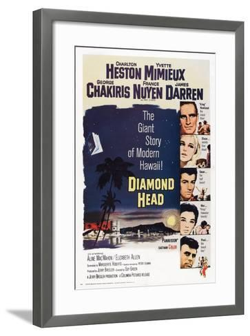 Diamond Head, 1963--Framed Art Print